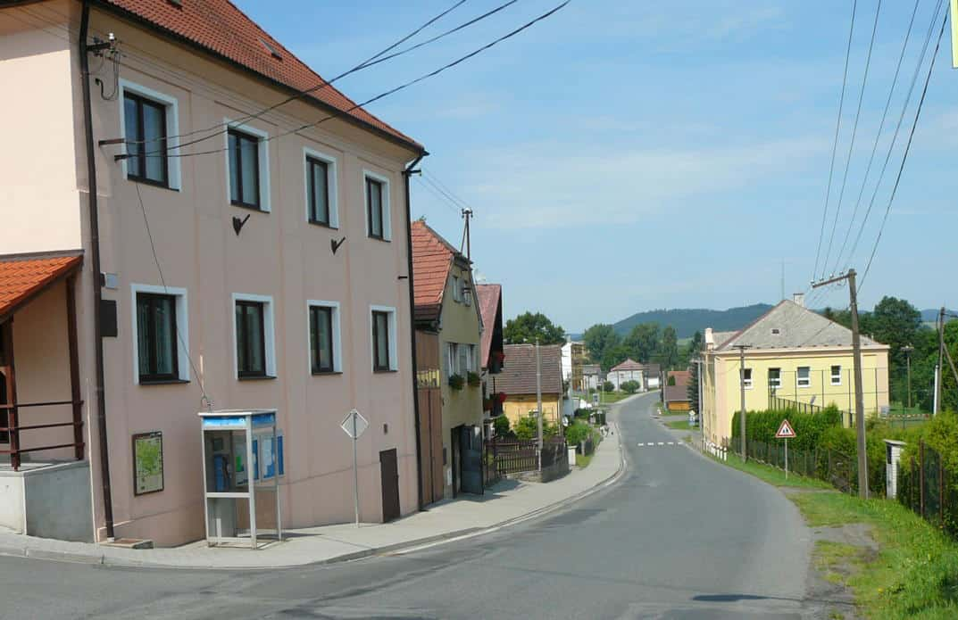 Accommodations in Všeruby